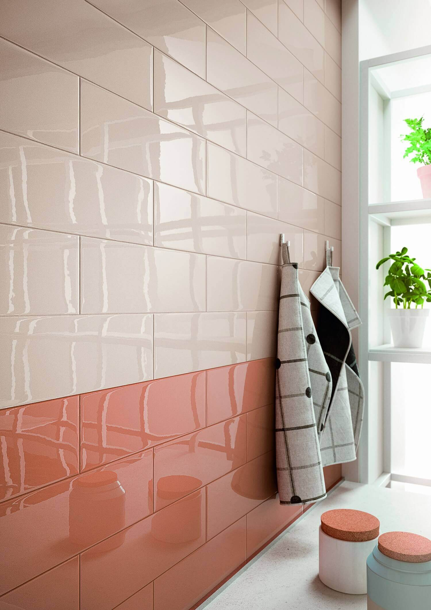 Cover bathroom tile