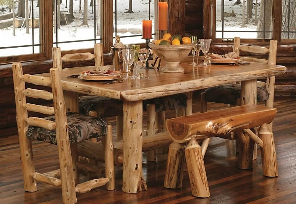 Стиль шале столы своими руками